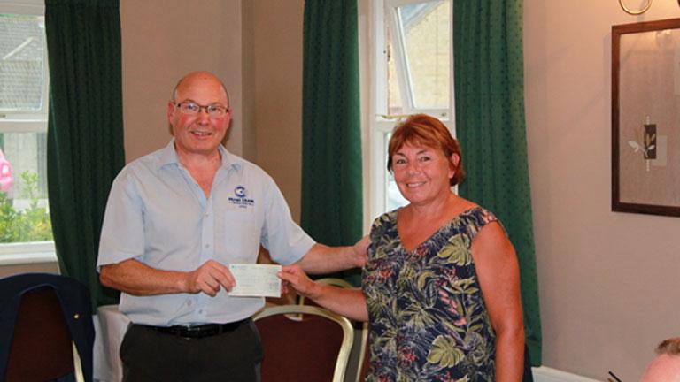 Rotary raises £1000 for YPCS